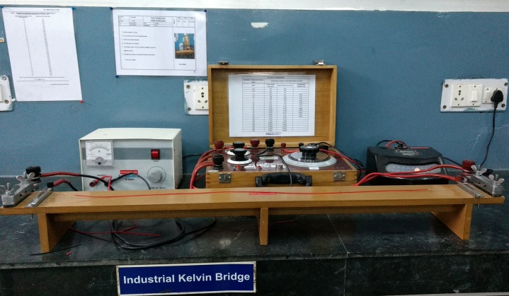 Kelvin Bridge for wires and cables quality Testing